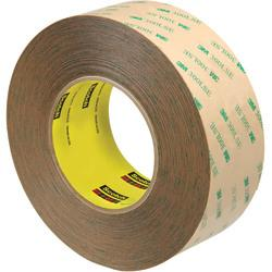 Scotch(R) 9472LE Adhesive Transfer Tape Hand Rolls, 3in. Core, 2in. x 60 Yd., Clear, Case Of 6