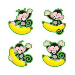 TREND Monkeys And Bananas Mini Bulletin Board Accents, 3in., Multicolor, Pre-K - Grade 8, Pack Of 36