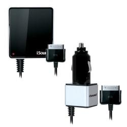 i.Sound Wall & Car Charger for iPhone and iPod