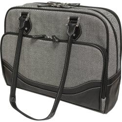 Mobile Edge Carrying Case (Tote) for 17in. Notebook, Ultrabook - Black, White