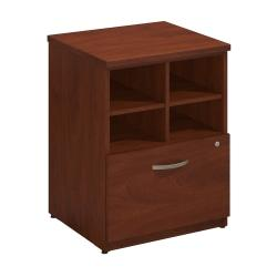 Bush Business Furniture Components Elite Storage Cabinet, 24in.W, Hansen Cherry, Premium Installation