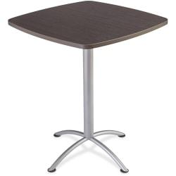 Iceberg iLand 42in.H Square Bistro Table - Square Top - 36in. Table Top Length x 36in. Table Top Width x 1.13in. Table Top Thickness - 42in. Height - Assembly R