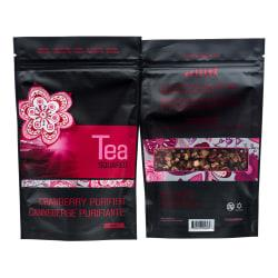 Tea Squared Cranberry Purifier Loose Leaf Tea, 2.8 Oz, Pack Of 3 Bags