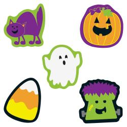 Carson-Dellosa Halloween Mini Cut-outs - Learning, Fun, Halloween Theme/Subject - 7, 7, 7, 7, 8 (Cat, Monster, Pumpkin, Ghost, Candy Corn) Shape - 3in. Width x