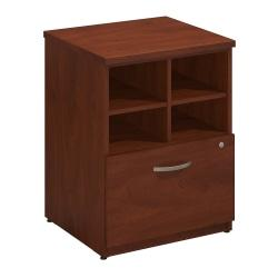 Bush Business Furniture Components Elite Storage Cabinet, 24in.W, Hansen Cherry, Standard Delivery