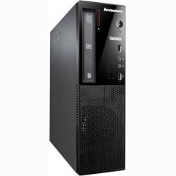 Lenovo ThinkCentre E73 10AU002PUS Desktop Computer - Intel Core i3 i3-4130 3.40 GHz - Small Form Factor - Glossy Black