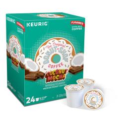 The Original Donut Shop(R) Coconut Mocha Coffee K-Cups(R), 1 Oz, Box Of 24