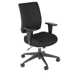 Bush Business Furniture Accord Mid-Back Multifunction Office Chair, Black, Premium Installation