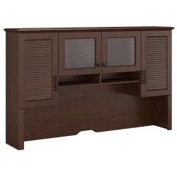 kathy ireland(R) Office by Bush Furniture Volcano Dusk Hutch, 68in.W, Coastal Cherry, Standard Delivery