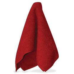 Impact Products Red Microfiber Cleaning Cloths - Cloth - 16in. Width x 16in. Length - 180 / Carton - Red