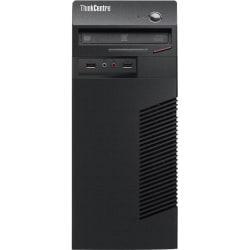 Lenovo ThinkCentre M73 10B3000VUS Desktop Computer - Intel Pentium G3220 3 GHz - Mini-tower - Business Black