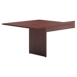basyx by HON(R) BL Series Rectangle-Shaped Table End For Conference Table, Mahogany