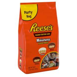 Reese's Peanut Butter Cups Miniatures Assortment Bag, 36 Oz