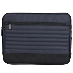 Kenneth Cole Reaction R-Tech Single-Compartment Laptop Case, 15.25in.H x 11.25in.W x 1in.D, Navy