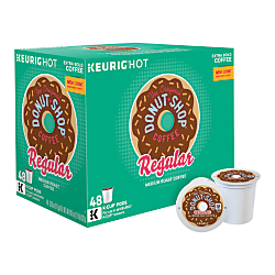 The Original Donut Shop(R) Medium Roast K-Cup(R) Pods, 0.39 Oz, Box Of 48