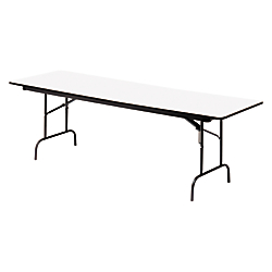 Iceberg Premium Folding Table, Rectangular, 29in.H x 60in.W x 30in.D, Gray\/Charcoal