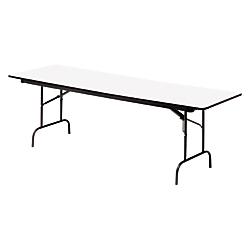 Iceberg Premium Folding Table, Rectangular, 29in.H x 60in.W x 30in.D, Gray\/Charcoal