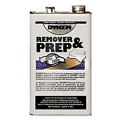 No hazardous chemicals such as 1,1,1-trichloroethane, chlorofluorocarbons, or chlorinated solvents 1 GAL REMOVER/THINNER is one of many  available through Office Depot. Made by Dykem.