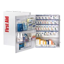 First Aid Only XL SmartCompliance First Aid Cabinet, 17in.H x 5 3/4in.W x 22 1/2in.D, White