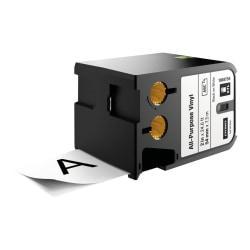 Dymo XTL All-purpose Vinyl Labels - 2in. Width x 22 31/32 ft Length - Thermal Transfer - White - Vinyl - 1 Each