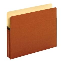 Pendaflex(R) Redrope Expanding File Pockets, 1 3/4in. Expansion, Letter Size, Brown, Box Of 25 File Pockets