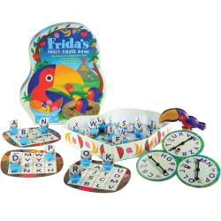 Educational Insights Frida's Fruit Fiesta Alphabt Game - Educational - 2 to 4 Players