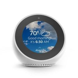 Amazon Echo Spot, White