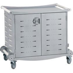 Anthro LTSC30WHSM 30 Unit Laptop Storage Cart