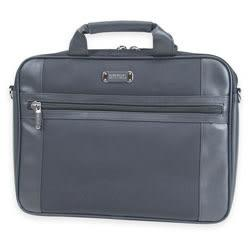 Kenneth Cole Reaction Laptop Case, 12in.H x 16in.W x 2in.D, Black