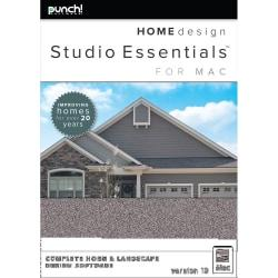 Punch! Home Design Studio Essentials for Mac v19, Download Version