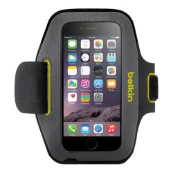 Belkin Sport-Fit Armband for iPhone (R) 6, Blacktop\/Limelight