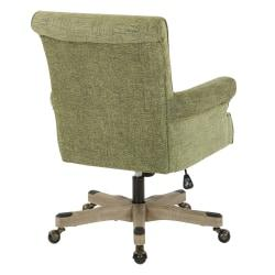 Office Star(TM) Megan Metal/Wood Office Chair, Olive