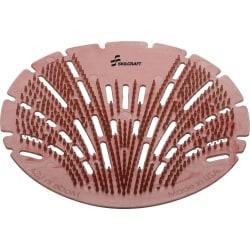 SKILCRAFT Deodorizing Urinal Screen - Mango Bay - Lasts upto 45 Day - Flexible, Translucent, Deodorizer, Splash Resistant - 10 / Box - Red