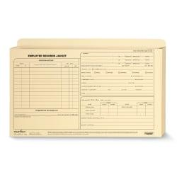 ComplyRight(TM) Expanded Employee Record Folders, Legal, 15in. x 9 1/2in. x 1in., Pack Of 25