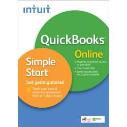 QuickBooks(R) Online Simple Start 2013, For PC/Mac, Online Service