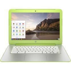HP Chromebook 14-x000 14-x040nr 14in. LED Chromebook - Refurbished - NVIDIA Tegra K1 Quad-core (4 Core) 2.30 GHz - Snow White, Neon Green