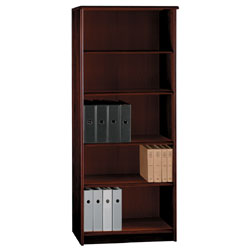 office depot shelves office depot brand wood 5 shelf bookcase 72 h x 30 w x 13 23910