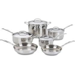 Cuisinart Chef's Classic 10 Piece Cookware Set