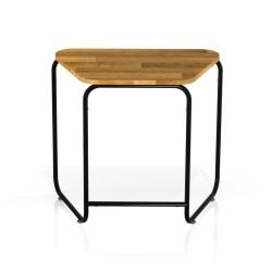 Safco(R) Connect(TM) Teaming Series Table, Single Work Table, Trapezoid, Natural/Black