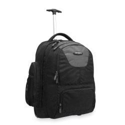 Samsonite(R) Wheeled Backpack, Charcoal/Black