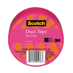 Scotch Colored Duct Tape, 1 7/8in. x 20 Yd., Pink