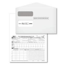 ComplyRight(TM) 1095-C Inkjet/Laser Tax Forms And Envelopes, Employee Copy (25) / IRS Copy (25), 1-Part, 8 1/2in. x 11in., Pack Of 50 Forms And Envelopes