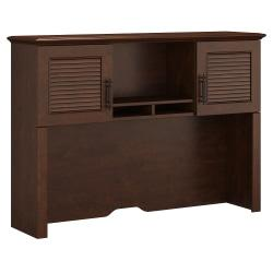 kathy ireland(R) Office by Bush Furniture Volcano Dusk Hutch, 51in.W, Coastal Cherry, Standard Delivery