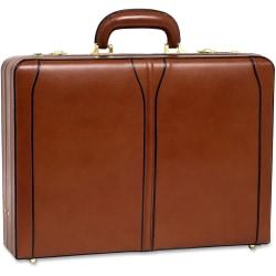 McKleinUSA Turner 80484 Carrying Case (Attache) for File Folder, Business Card, Cellular Phone, Pen, Calculator - Brown