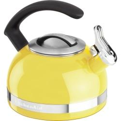 KitchenAid(R) 2.0-Quart Kettle with C Handle and Trim Band, Citrus Sunrise