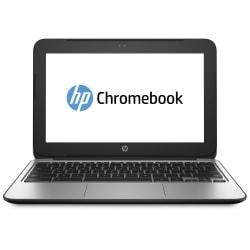HP Chromebook 11 G3 11.6in. LED Chromebook - Intel Celeron N2840 Dual-core (2 Core) 2.16 GHz - Black, Silver