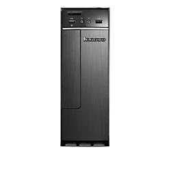 Lenovo(R) H30 Slim Tower Desktop PC, AMD E1, 4GB Memory, 500GB Hard Drive, Windows(R) 10