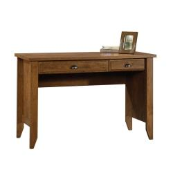 Sauder(R) Shoal Creek Computer Desk With Flip Down Computer Tray, Oiled Oak