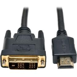 Tripp Lite 30ft HDMI to DVI-D Digital Monitor Adapter Video Converter Cable M\/M 30ft.