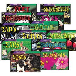 Creative Teaching Press(R) Lola Plants And Animals Variety Pack, Pack Of 12
